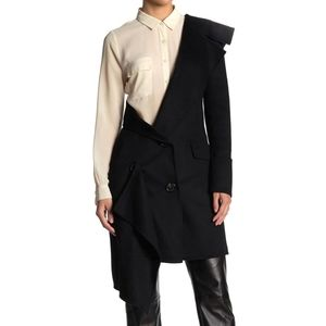 BURBERRY Deconstructed One Sleeve Jacket